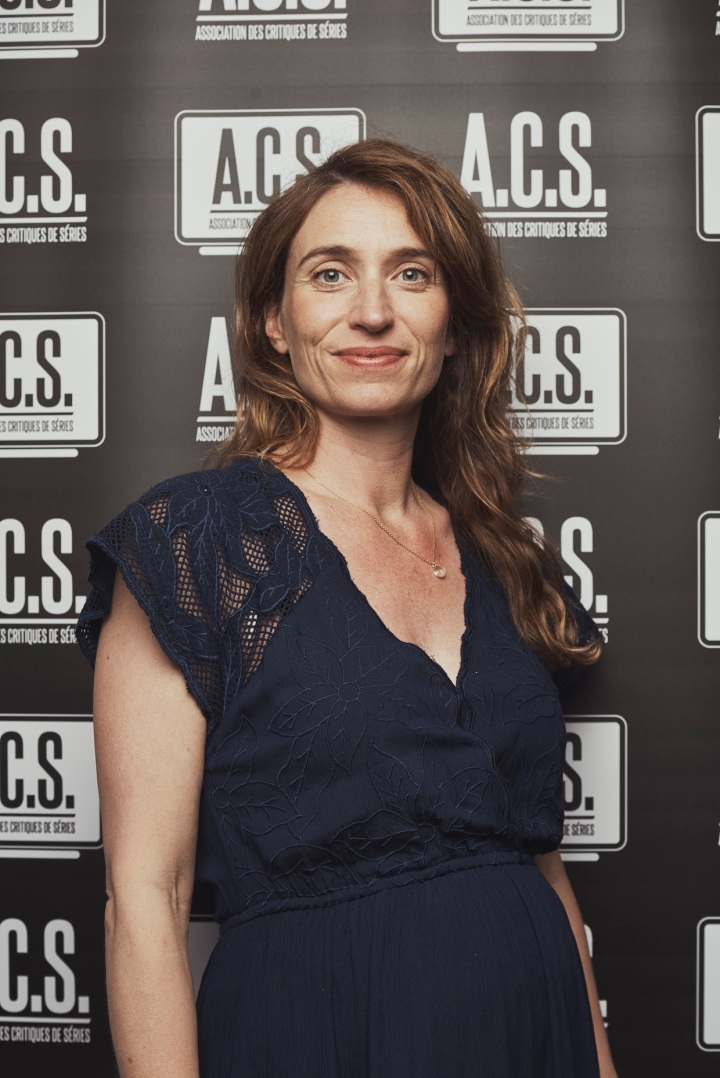 Fanny Herrero, créatrice de la série Dix pour cent, a reçu le prix de la meilleure scénariste. Photo Julien Lienard / Contour by Getty