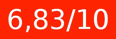 6,83/10